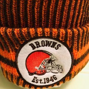 New Era NFL Cleveland Browns Beanie Cap